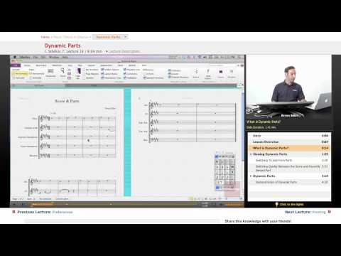 Sibelius: Dynamic Parts