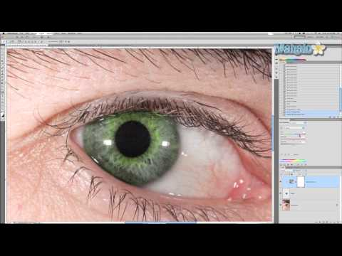Photoshop Tutorial - Hulk Eyes