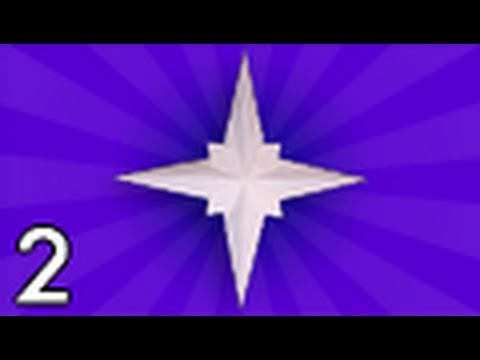 Origami Holiday Star by Jared Needle (Folding Instructions) ~Part Two~