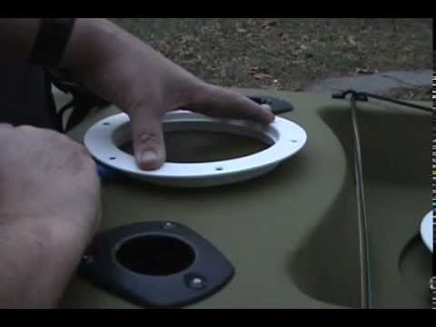 Screw-Out Kayak Hatch Installation: Episode 15