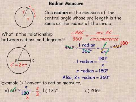 Radian Measure