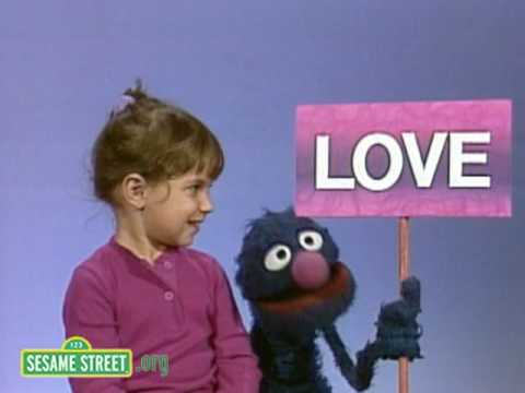 Sesame Street: Grover Discusses What is Love Anyway?