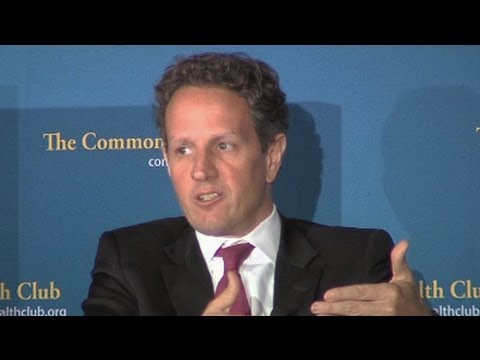 Republican Austerity Risks Recession, Argues Timothy Geithner