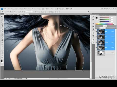 Photoshop Top 40 #32 - The Pen Tool
