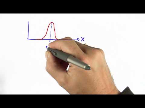 Gaussian Intro - CS373 Unit 2 - Udacity