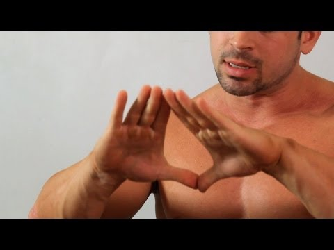 Diamond Push Up | Home Arm Workout for Men