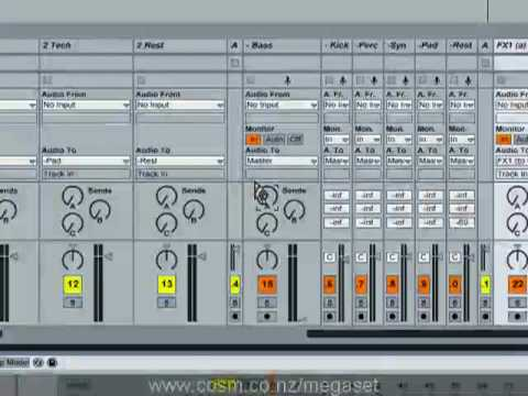 Tom Cosm - Megaset .1 (the ultimate Ableton Live set) - Part 2