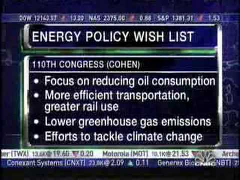 CAP's Dr Ana Unruh Cohen on Dems and Energy Policy on CNBC
