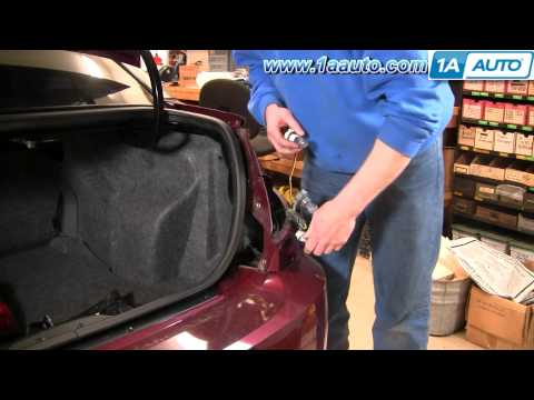 How To Install Replace Taillight and Bulb Saturn Ion 03-07 Sedan 1AAuto.com