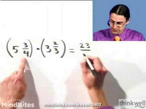 Beg Algebra: Multiplying & Dividing Mixed Numbers