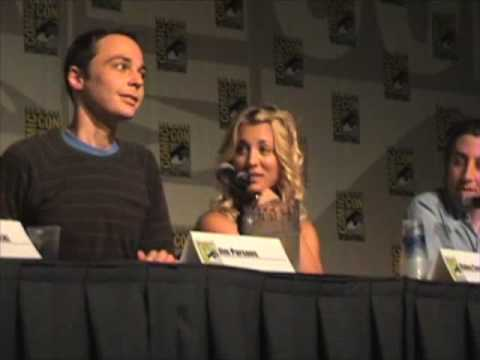 Big Bang Theory panel at Comic Con 2008 Part 2