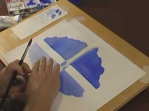 Watercolor Tips For Beginners - Watercolour Brushes and Paint Strength