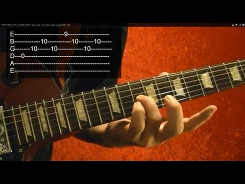How to Play US AND THEM by PINK FLOYD