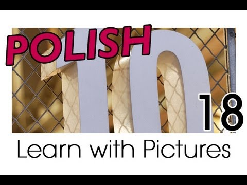 Learn Polish with Pictures - Simple Numbers in Polish