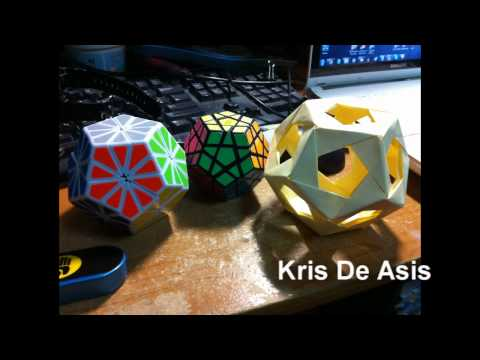 Post-it Note Dodecahedron: Your Photos