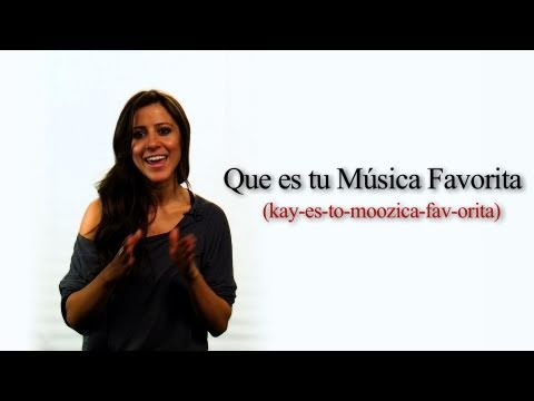 """How to Ask """"What is Your Favorite Music"""" in Spanish"""