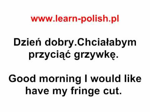 3 Polish Dialogues : At the hairdresser's - Polish Online
