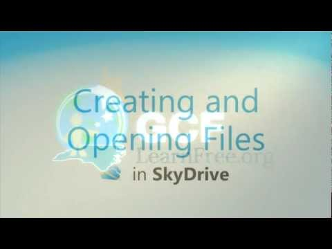 Office Web Apps: Creating and Opening Files