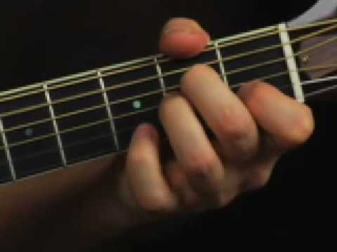 Beginner acoustic guitar lesson learn spiced up open chords