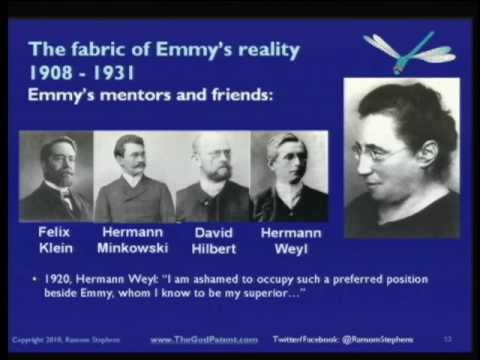 Emmy Noether and The Fabric of Reality