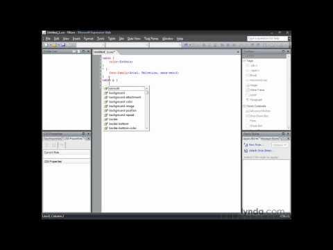 Expression Web: Understanding complex selectors | lynda.com