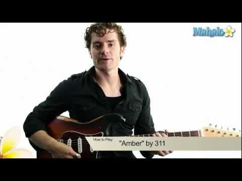 "How to Play ""Amber"" by 311 on Guitar"