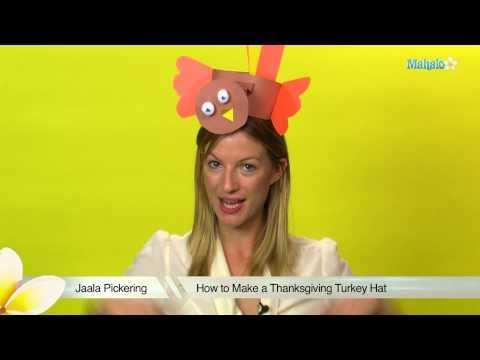 How to Make a Thanksgiving Turkey Hat