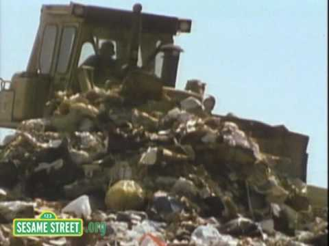 Sesame Street: Garbageman's Blues Song