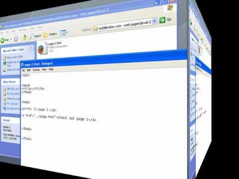 Web Design Basics - Linking and Paths