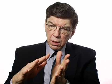 Clayton Christensen on the Dire State of American Innovation