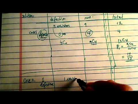 how to solve probability problems?