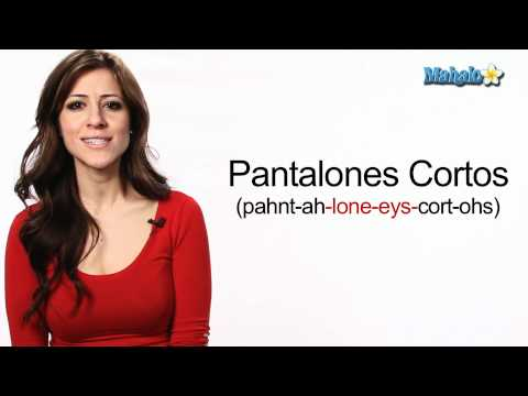 """How to Say """"Pants"""" and """"Shorts"""" in Spanish"""