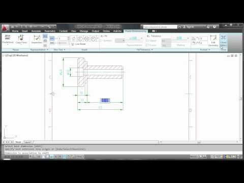 Dimensions — AutoCAD Mechanical 2012