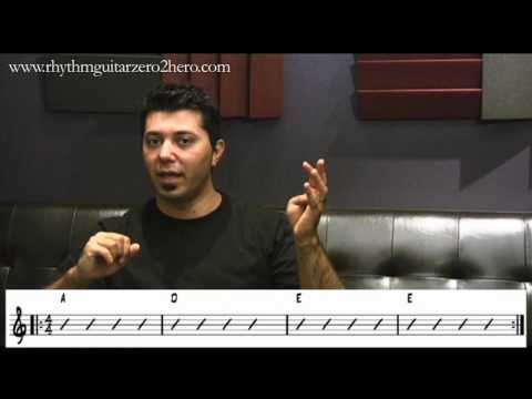 Bars and Beats Guitar Instructions - Learn To Play Acoustic Guitar