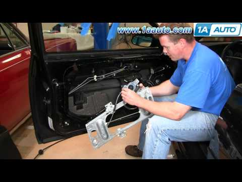 How To Install Repair Power Window Regulator Chevy Monte Carlo 00-07 1AAuto.com