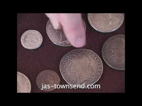 Reproduction 18th Century Coins at Jas Townsend and Son