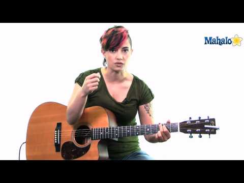 Mahalo Guitar Ustream 9/8/11: Jen talks about improving rhythm on guitar