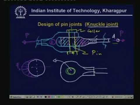 Lecture - 13 Design of Fasteners - I