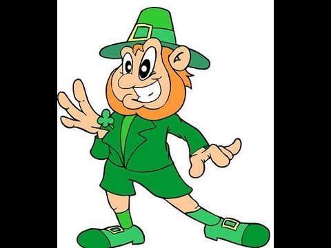 Leprechaun Dressed in Green Child Song   Cullen's Abc's