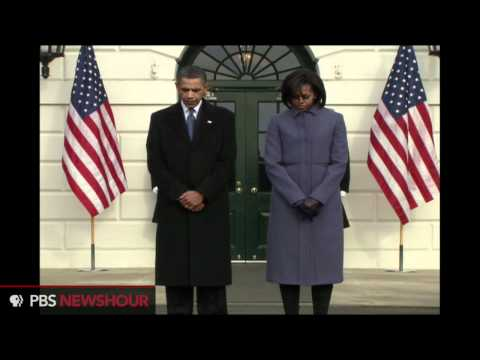 Moment of Silence at White House on Monday