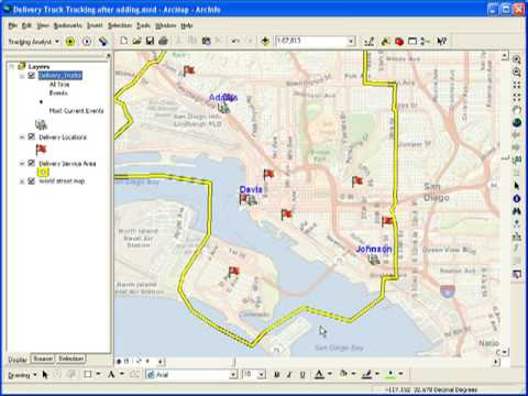 Geofencing Using Tracking Analyst