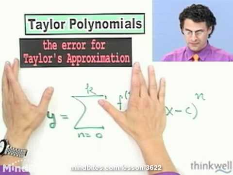 Calculus: Taylor Series
