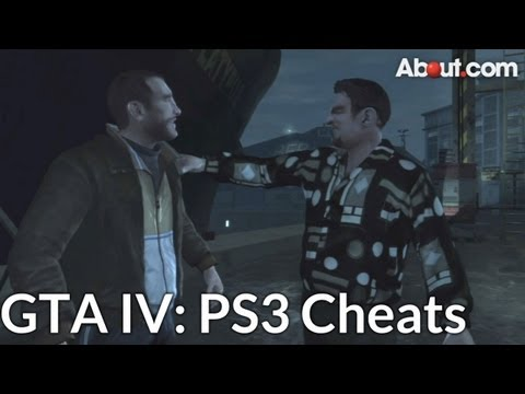 PS3 Cheat Codes for Grand Theft Auto IV