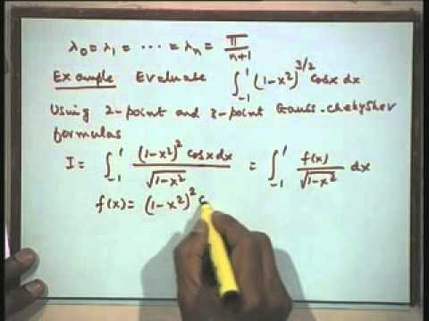 Lec-40 Numerical Differentiation and Integration-Part-7