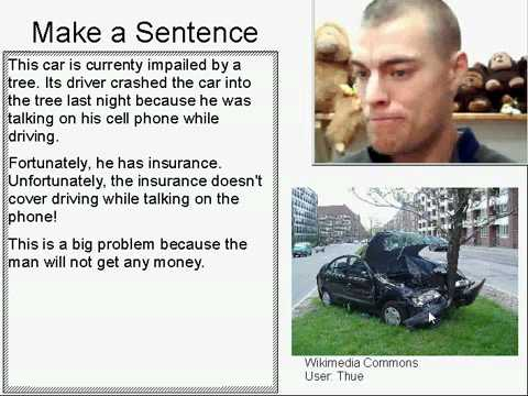 Learn English Make a Sentence and Pronunciation Lesson 25: Crash