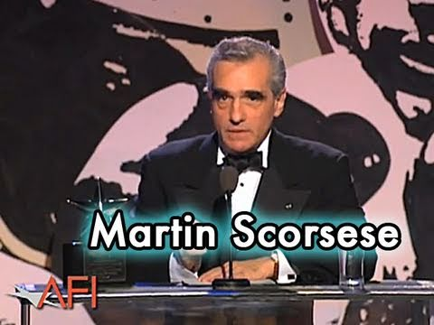 Martin Scorsese Accepts the 25th AFI Life Achievement Award in 1997