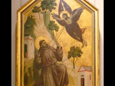 Giotto, St. Francis Receiving the Stigmata, c. 1295-1300