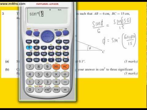 June 2010 AQA core 2 Quick Answers (Q3)