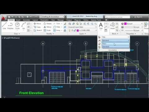 Create Text and Dimensions: AutoCAD 2013
