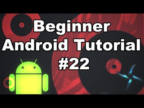 Learn Android Tutorial 1.22- Using an ImageView as a Button